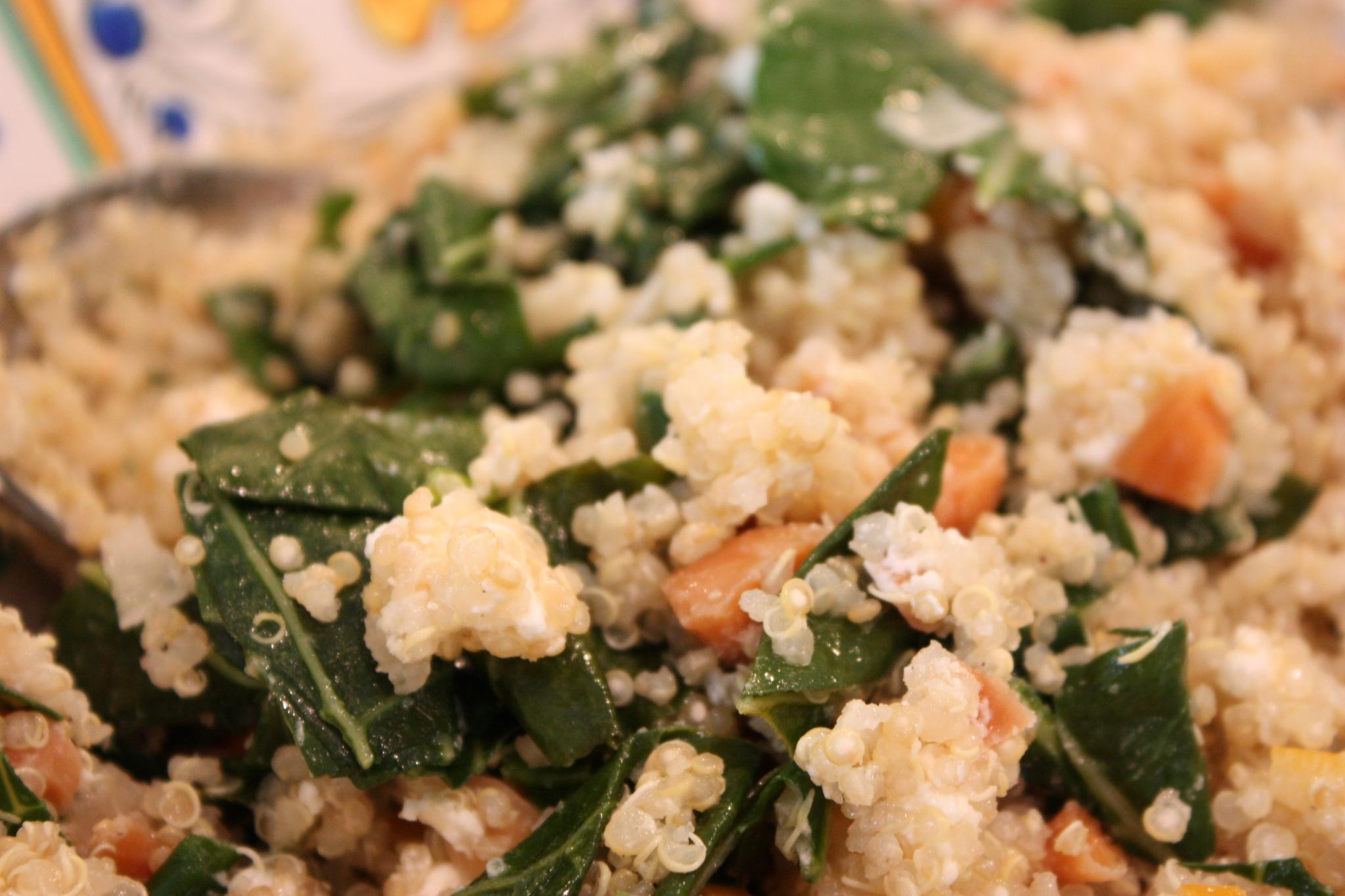 """The ever popular """"One Pot Kale & Quinoa Pilaf """""""