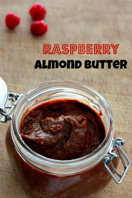 raspberry almond butter spread