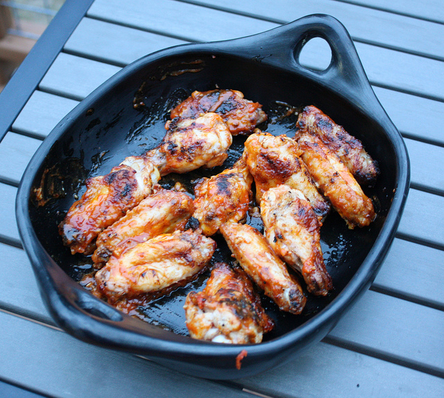 chicken wings home schooled bbq chicken wings recipe yummly honey ...