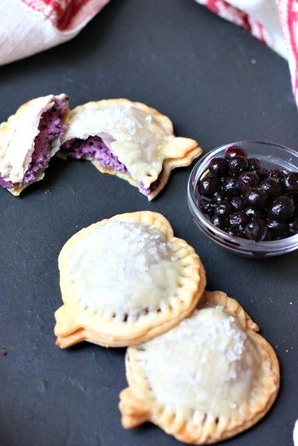 wild blueberry pastry