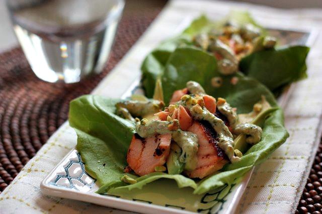 salmon lettuce wraps 4