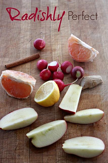 Radishly Perfect Ingredients