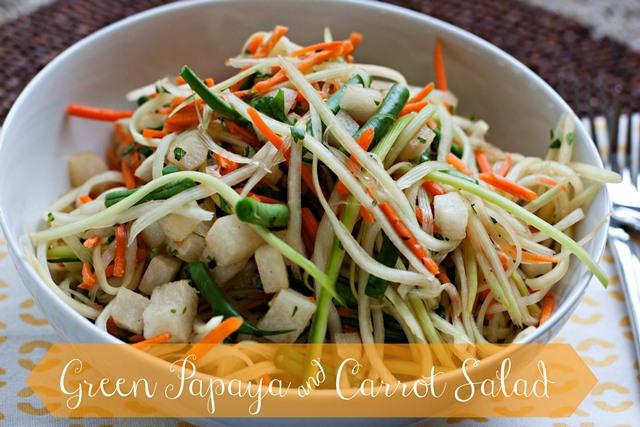 Green Papaya and Carrot Salad