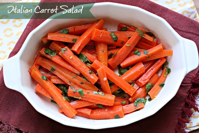 Italian Carrot Salad