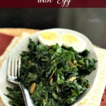 Smoky Kale Salad with Egg 2