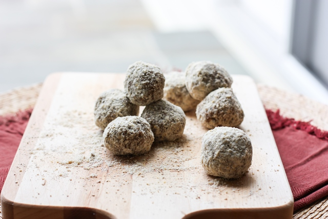 no-bake fig newton bites