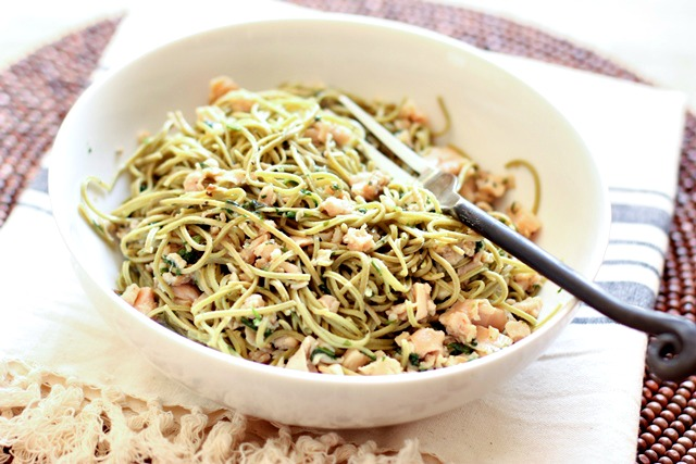 Healthy Spaghetti with Clam Sauce