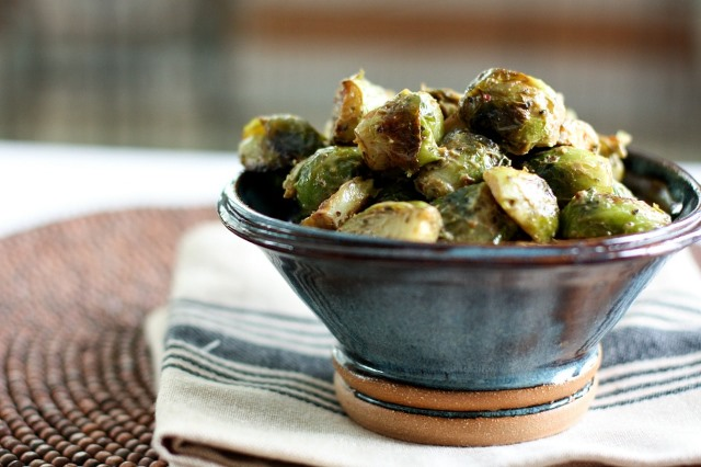 Brussels Sprouts with Avocado Cream -- www.foodconfidence.com