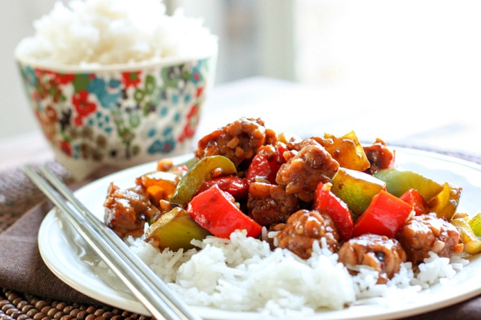 Kung Pao Tempeh #vegan #glutenfree #dinner #chinesefood