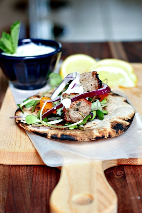 Lamb on the Go! Egyptian chic street food, perfect for lunch, dinner or summer BBQ! @danielleomar