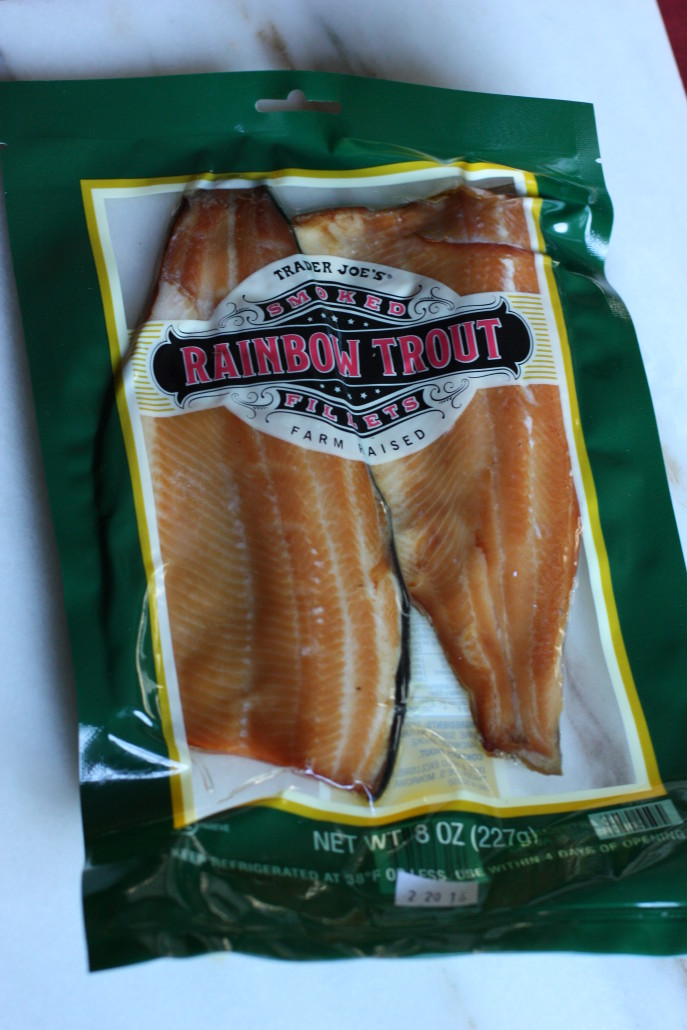 Trader Joe's smoked trout