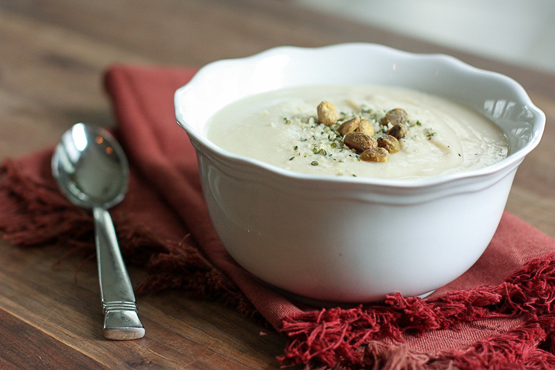 lemony cauliflower soup