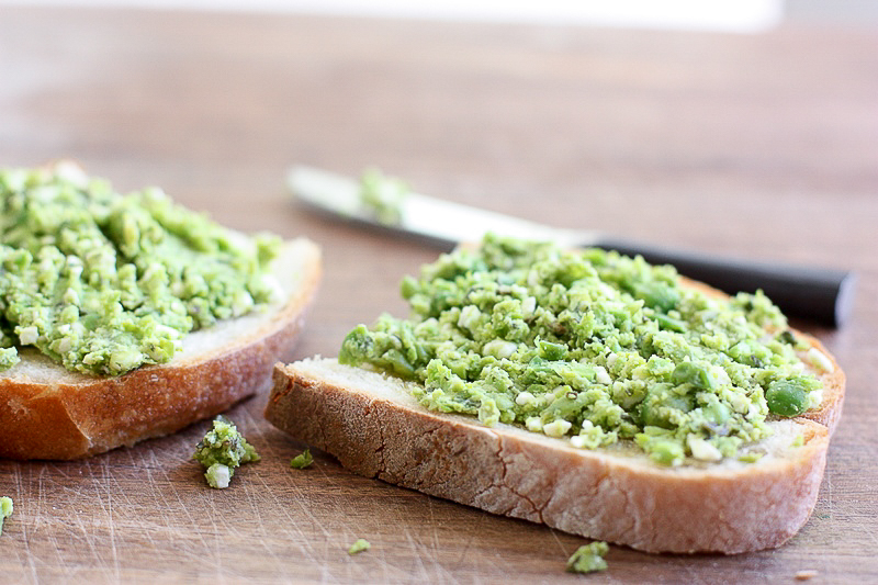Celebrating 5 Years of Recipe Redux with Smashed Pea Toast
