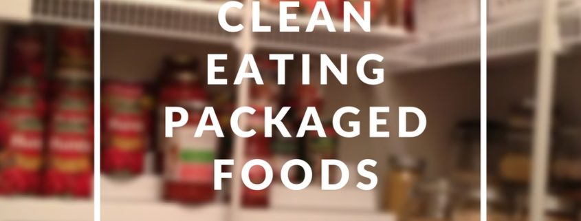 Clean eating packaged food list