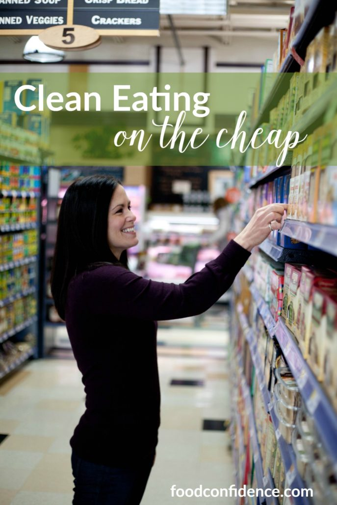 Danielle's best tips for eating clean on a budget. How to save money at the grocery store while still eating clean!