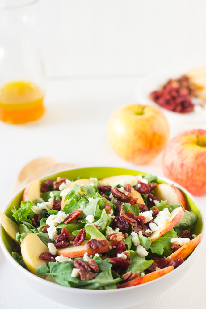 apple-pecan-and-feta-salad-with-honey-apple-dressing-is-loaded-with ...