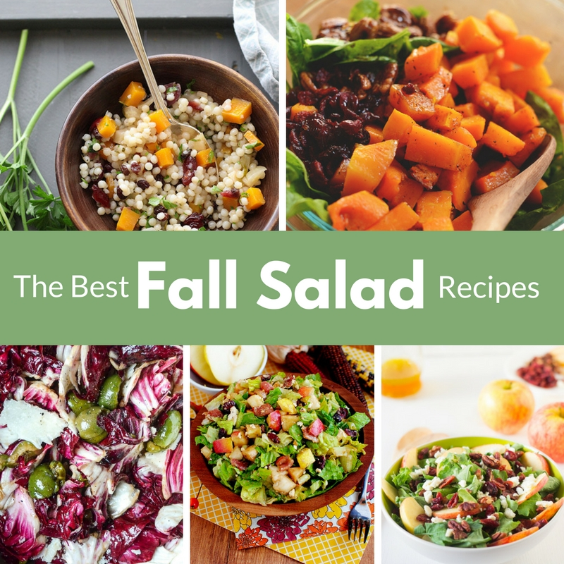 he best way to celebrate the flavors and variety of the fall harvest is with a delicious fall salad!