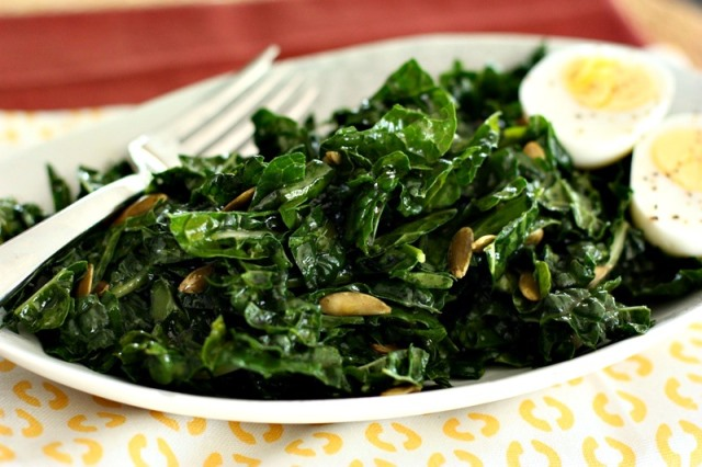 smoky-kale-salad-with-egg