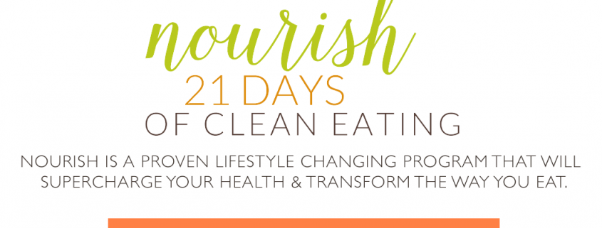 Nourish: 21 Days of Clean Eating